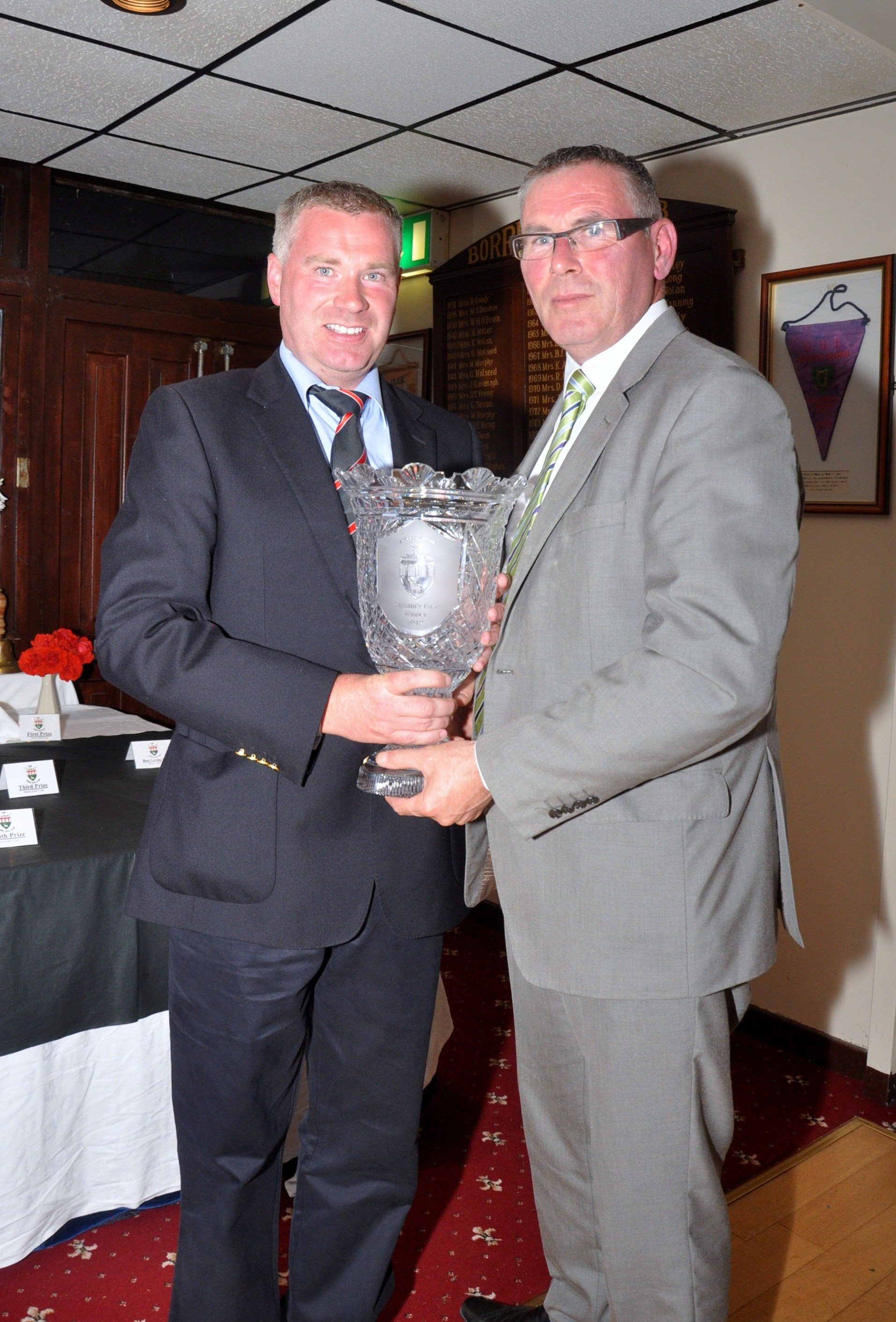 Prize Presentation Gallery Borris Golf Club