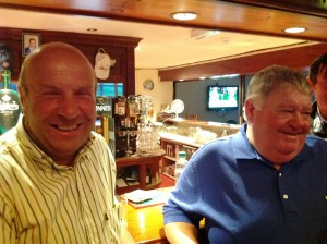 Sean & Ian enjoying Golf Classic Presentation Night