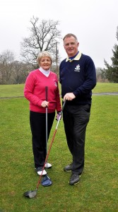 Borris Golf Club Lady Captain Stephanie Dargan & Captain Pat Leahy