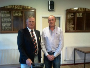 Captain Pat & Tuesday Singles Winner Shane Foley