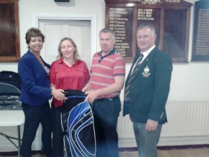 Lorraine Kearney 1st in Scotch foursomes