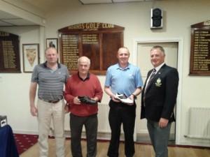 Sponsor John Foley,Shane Foley Mick Hanrahan & Captain Pat Leahy