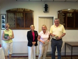 Valerie Gallagher, Justin Manning & Lady Captain Stephanie Dargan