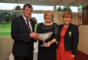 Bernie Byrne winner of Captain John Byrne's Prize to Ladies 25.07.15