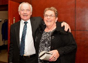 Greg Murphy & Mary Quirke at the Borris Golf Club Dinner Dance in The Lord Bagenal.