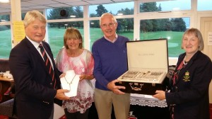 borris-golf-club-captain-cyril-hughes-presenting-his-ladies-prize-to-margaret-whelan-and-paddy-hayles-receiving-lady-captains-prize-to-men-from-janette-oneill